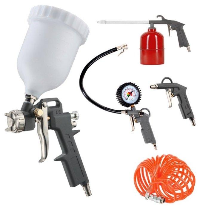 Набор пневмоинструментов PATRIOT KIT 5A