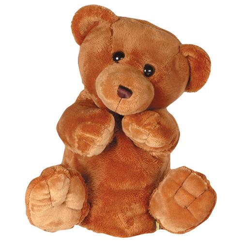 цена на Gulliver Мягкая игрушка на руку Медведь (21-907762-4) коричневый