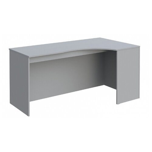 Письменный стол угловой Skyland Simple SE, 160х90 см, угол: справа, цвет: серый