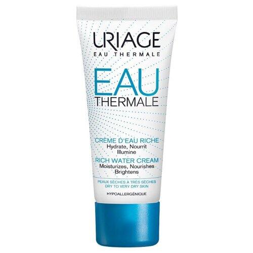 Uriage Eau Thermale Rich Water Cream Крем увлажняющий для лица, 40 мл uriage light water cream