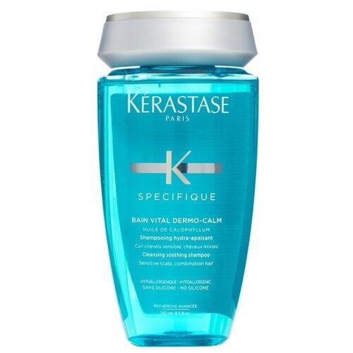 Kerastase шампунь Specifique Bain Vital Dermo-Calm, 250 мл kerastase шампунь specifique bain riche dermo calm дермокалм риш для сухих волос 250 мл