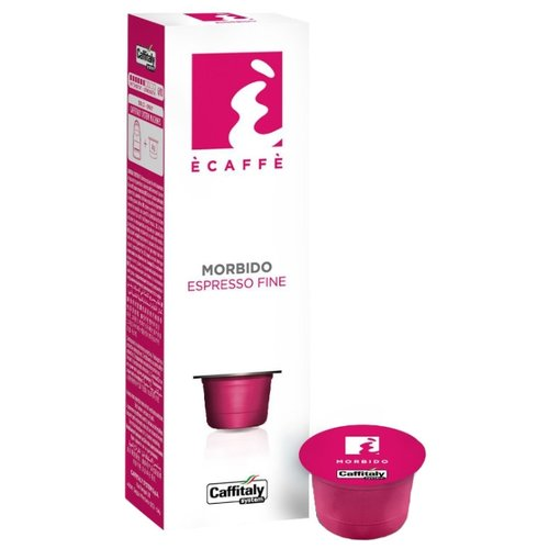 Кофе в капсулах Caffitaly Ecaffe Morbido (10 капс.) кофе caffitaly кофе в капсулах mesico