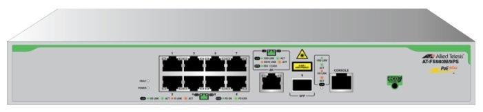 Коммутатор Allied Telesis AT-FS980M/9PS