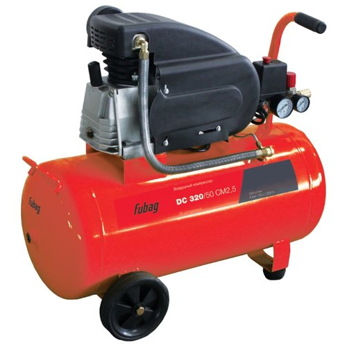 Фото - Компрессор масляный Fubag DC 320/50 CM2.5, 50 л, 1.8 кВт компрессор масляный fubag b5200b 200 ct4 200 л 3 квт