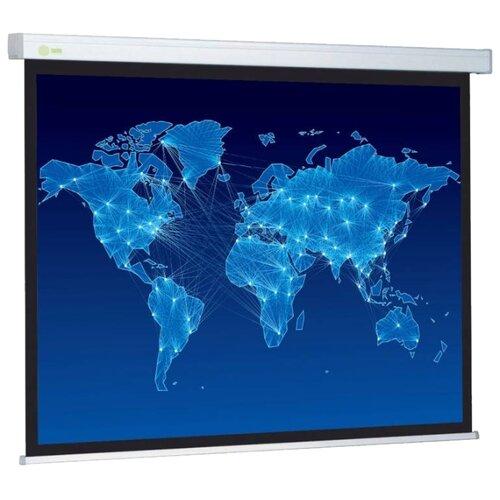 Фото - Рулонный матовый белый экран cactus Wallscreen CS-PSW-149x265 экран cactus wallscreen cs psw 149x265 265 7х149 4 см 16 9 настенно потолочный белый