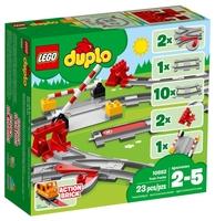железная дорога Конструктор LEGO Duplo 10882 Рельсы и стрелки