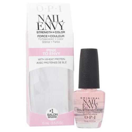 цена на Средство для укрепления ногтей OPI Nail Envy - Pink to Envy, 15 мл