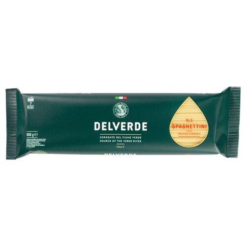 Delverde Industrie Alimentari Spa Макароны № 3 Spaghettini, 500 г макароны delverde spaghetti 141 с отрубями био 500 г