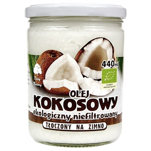 Dary Natury Масло кокосовое ЭКО 0.44 лМасло растительное<br>