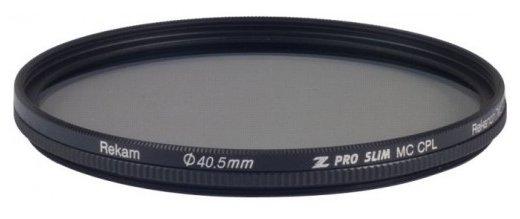 Светофильтр поляризационный круговой Rekam Z Pro Slim CPL MC 40,5 мм