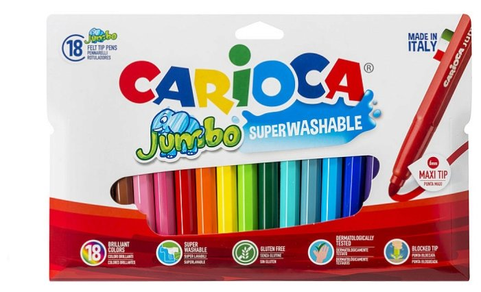 Carioca Фломастеры Jumbo 40566 (18 шт.)