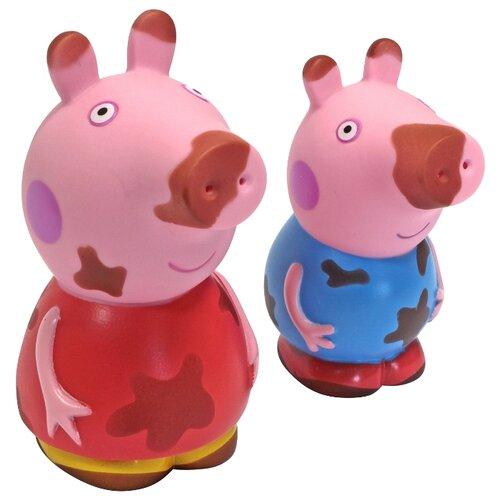 Набор для ванной РОСМЭН Чистюля или грязнуля Свинка Пеппа (30219) розовый росмэн шопкинс средний с усиленной спинкой розовый