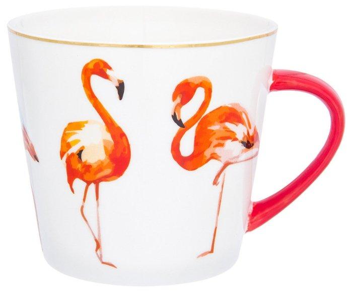 Elan gallery Кружка Коралловый фламинго