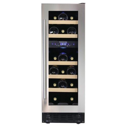 Встраиваемый винный шкаф Dunavox DAU-17.57DSS встраиваемый винный шкаф smeg cvi138rws2