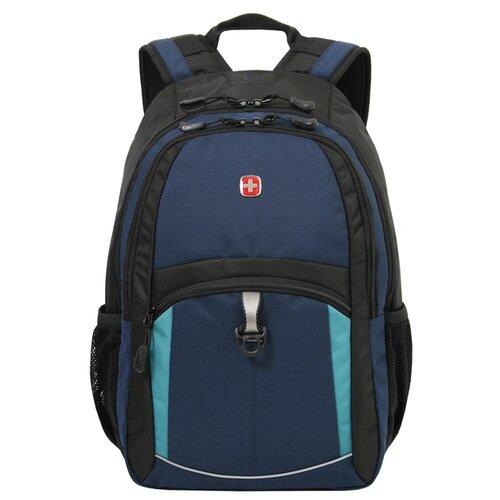 Рюкзак WENGER 3191203408 синий/черный/бирюзовый