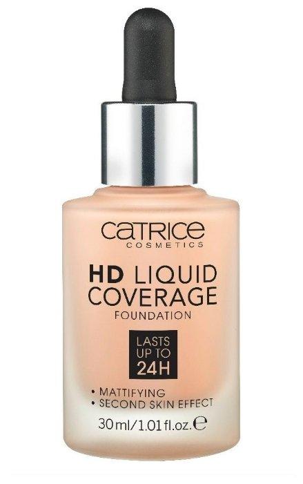 CATRICE Тональный крем HD Liquid Coverage Foundation 30 мл