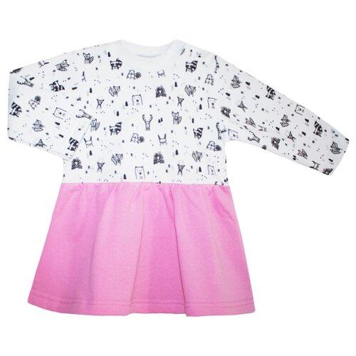 Купить Платье KotMarKot размер 98, розовый, Платья и сарафаны