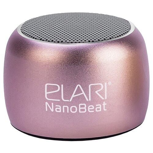 Купить Портативная акустика Elari NanoBeat pink / gold