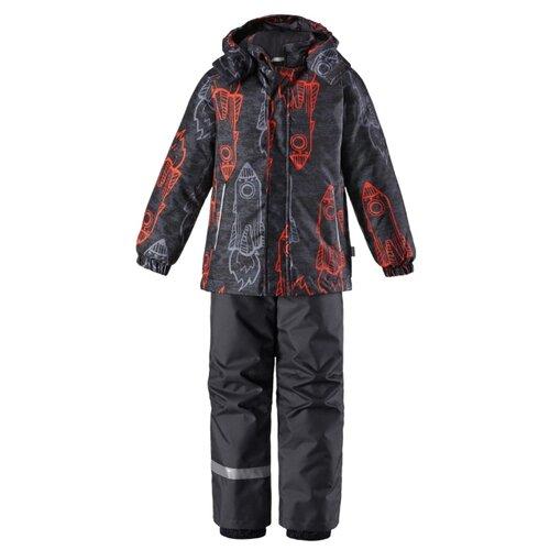 Комплект с брюками Lassie размер 92, 2891 оранжевый/серый