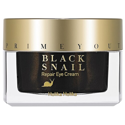 Holika Holika Восстанавливающий крем для глаз с экстрактом черной улитки Prime Youth Black Snail Repair Eye Cream, 30 мл