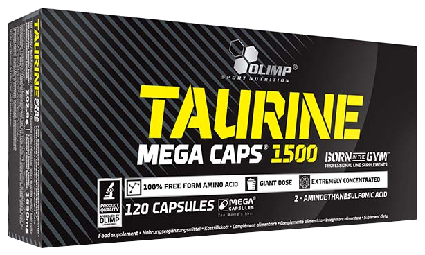 Аминокислота Olimp Taurine Mega Caps (120 капсул)
