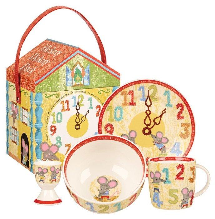 Набор для завтрака CHURCHILL Мышки HICK00011, 1 персона