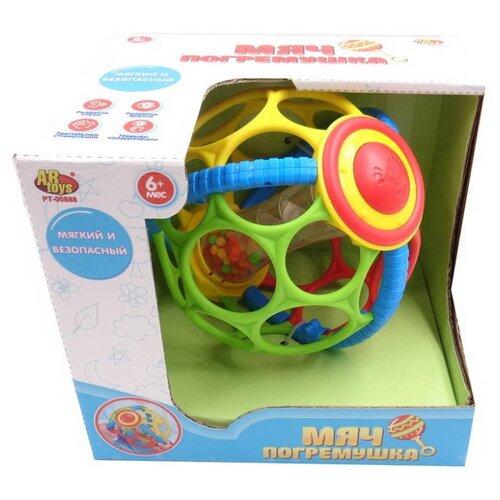 Купить Погремушка ABtoys Развивающий Мяч PT-00888 желтый/зеленый/красный, Погремушки и прорезыватели