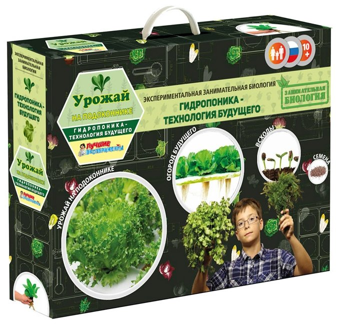 Набор для выращивания Qiddycome Урожай на подоконнике (НР-X028)