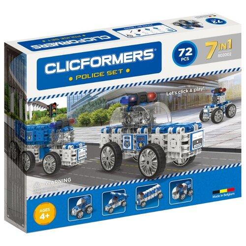 цена Магнитный конструктор Magformers Clicformers 802002 Police Set онлайн в 2017 году