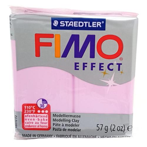 Купить Полимерная глина FIMO Effect запекаемая розовый кварц (8020-206), 57 г, Глина