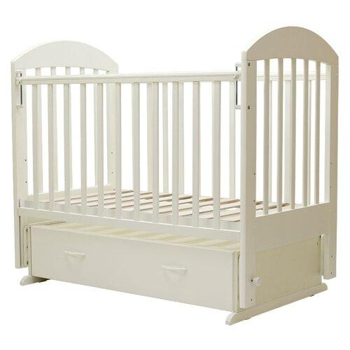 Купить Кроватка Топотушки Дарина-6 (классическая), универсальный маятник слоновая кость, Кроватки