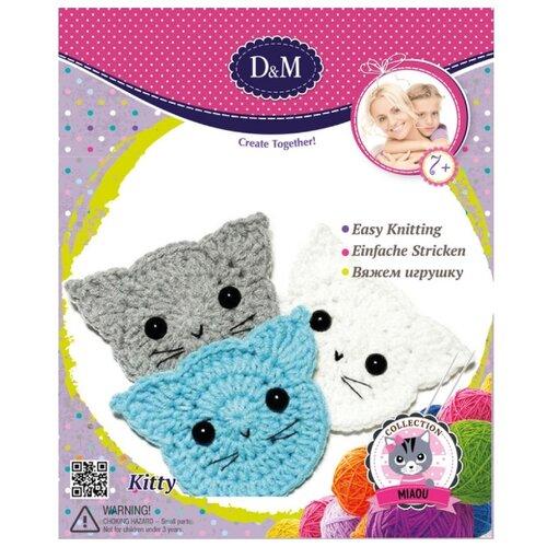 Купить D&M Вяжем игрушку Котята (66803), Наборы для вязания