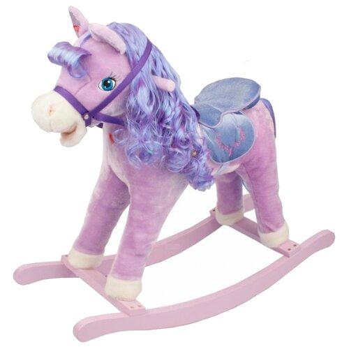 Купить Каталка-игрушка Pituso Лошадка Panadero GS2036 со звуковыми эффектами фиолетовый, Каталки и качалки