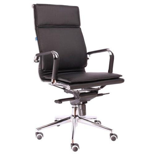 Фото - Компьютерное кресло Everprof Nerey M для руководителя, обивка: искусственная кожа, цвет: черный компьютерное кресло everprof trend tm для руководителя обивка искусственная кожа цвет черный