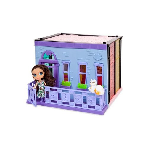Купить ABtoys Модный дом PT-00848, голубой/розовый/фиолетовый, Кукольные домики
