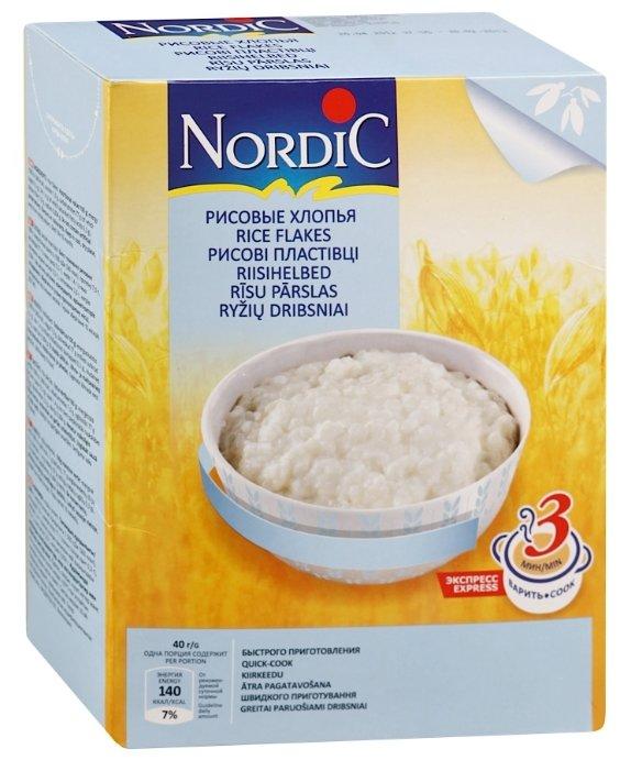 Каша Nordic безмолочная рисовые с 12 месяцев 800 г 1 шт