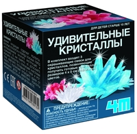 Набор для исследований 4M Удивительные кристаллы