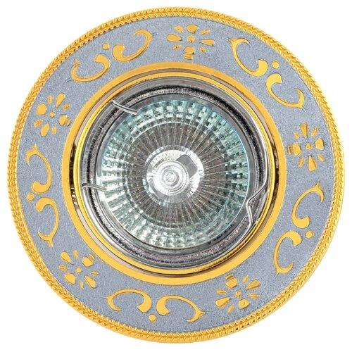 Встраиваемый светильник De Fran FT 183 CHG, хром / золотоВстраиваемые светильники<br>