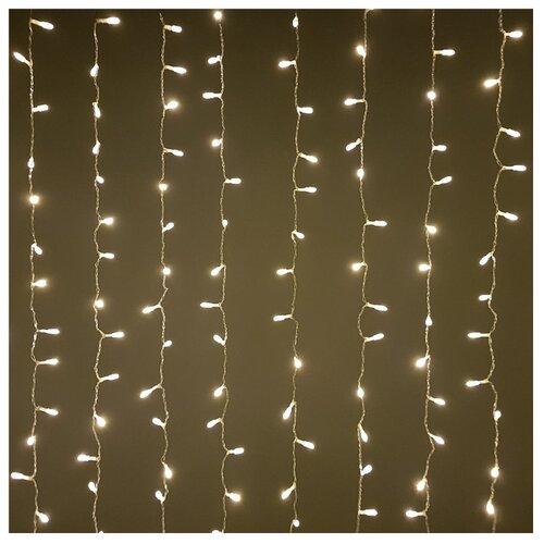 Гирлянда Sh Lights Занавес для помещений, 200 х 240 см, LDCL720-WW-E, 720 ламп, теплый белый