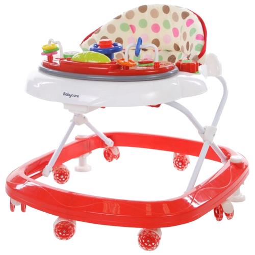 Ходунки Baby Care Sonic белый/красный baby care baby care ходунки walker розовые