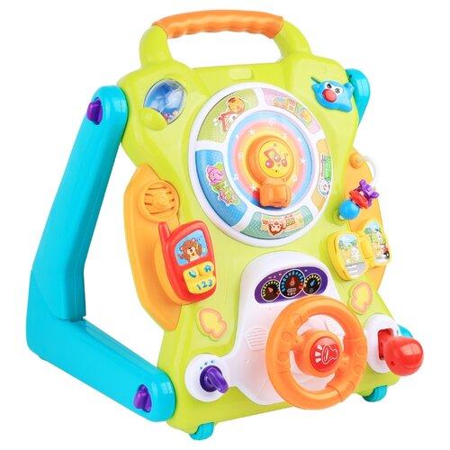 Купить Интерактивная развивающая игрушка Happy Baby IQ-Center 330904 зеленый/голубой/оранжевый, Развивающие игрушки