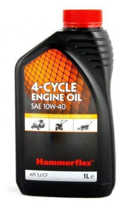 Масло для садовой техники Hammerflex 501-008 SAE 10W-40 1 л