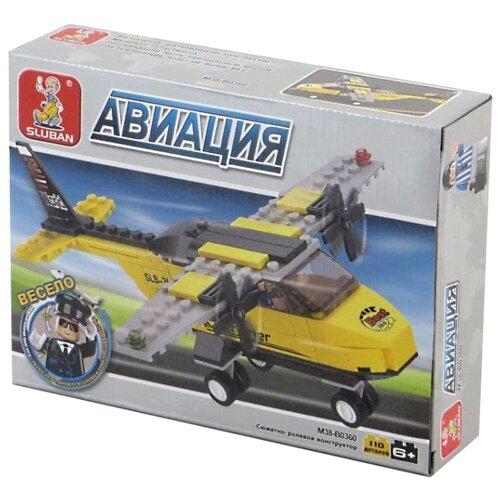 Купить Конструктор SLUBAN Авиация M38-B0360, Конструкторы