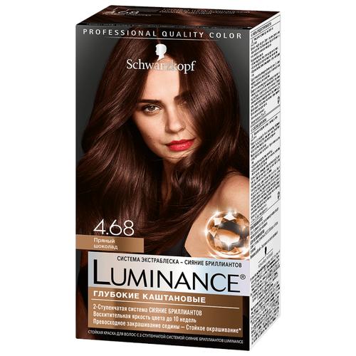 Schwarzkopf Luminance Глубокие каштановые Стойкая краска для волос, 4.68, Пряный шоколадКраска<br>