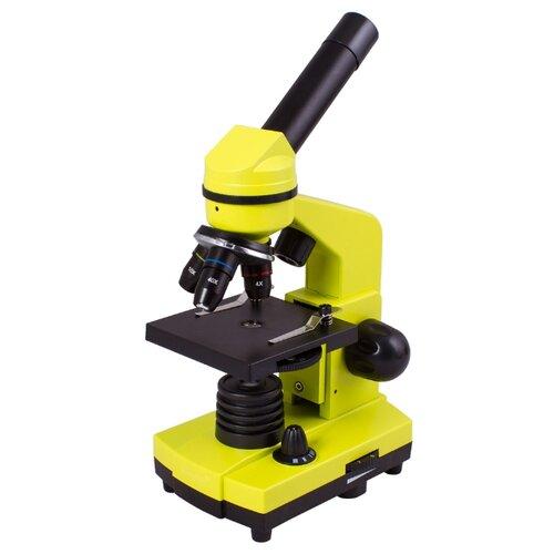 Микроскоп LEVENHUK Rainbow 2L lime микроскоп levenhuk rainbow 2l plus moonstone