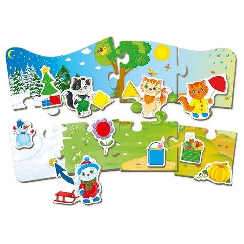 Набор пазлов Vladi Toys 4 сезона (VT2907-02) card games vladi toys vt5000 02 boy boys girl girls board game baby kids play