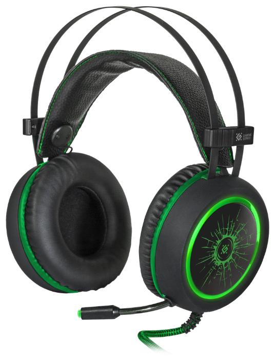 Defender DeadFire G-530D Black-Green 64531
