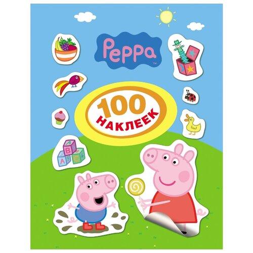 цена на РОСМЭН Набор 100 наклеек Свинка Пеппа (24099)