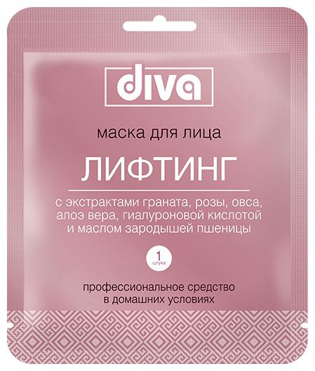 Diva Тканевая маска для лица Лифтинг