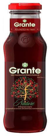 Сок Grante гранатовый неосветленный